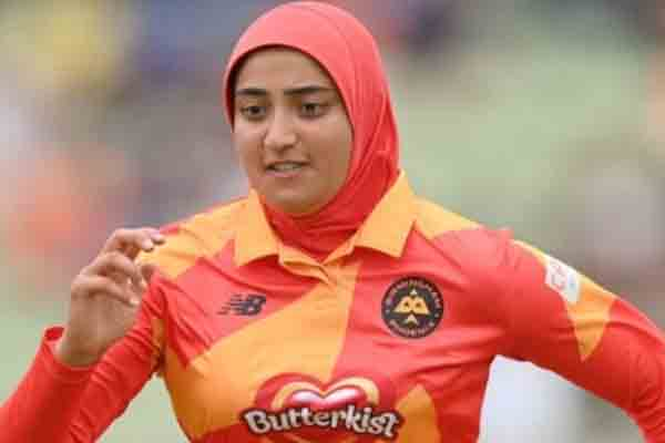 अबताहा मक़सूद हिजाब पहनकर क्रिकेट खेलने वाली दुनिया की पहली क्रिकेटर बनी